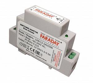 Блок питания FARADAY 12W/12-24V/DIN