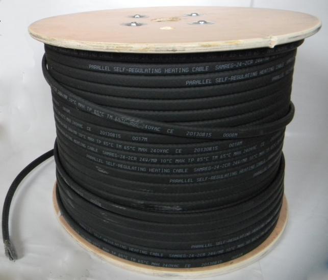 Саморегулирующийся нагревательный кабель SAMREG 40-2CR-UF