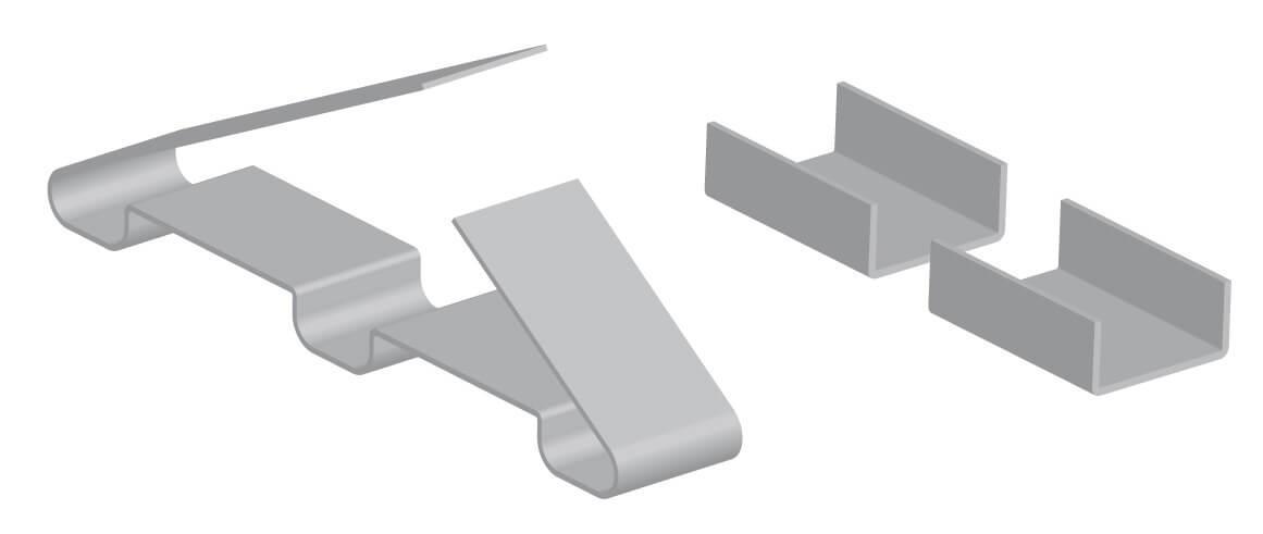 Зажим крепежный СР.3-100 Ц