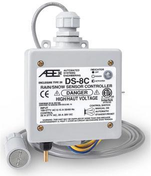 DS-8C наружной установки (кровля), с датчиками влажности и температуры, 30А