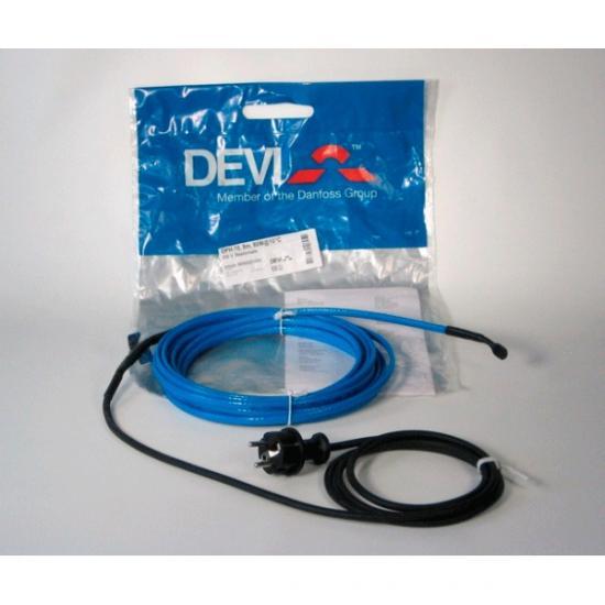 DEVIpipeheat™ DPH-10, с вилкой 4 м 40 Вт при +10°C