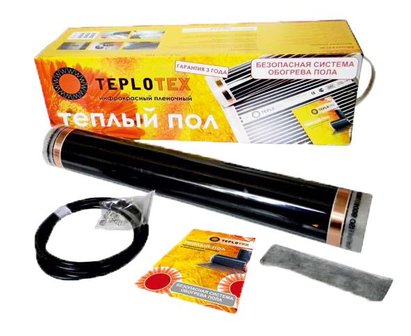 Инфракрасный пленочный теплый пол TEPLOTEX 1540/7