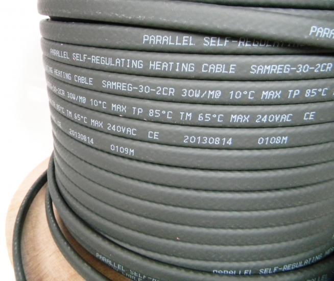 Саморегулирующийся нагревательный кабель SAMREG 30-2CR-UF